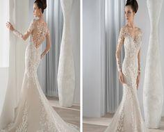 Demetrios lace wedding gown style 631