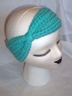 FREE SHIPPING in US  Bow Turban Headband Ear by LilBitofSunshine, $12.00