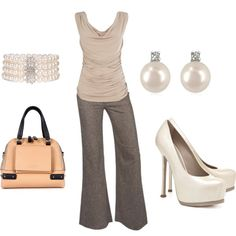 Elegant Office Lady Outfit