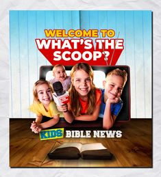 What's The Scoop? Kids Bible News Bible News, Tax Deductions, Follow Jesus, Bible For Kids, Finance, How To Become, Prayers, Encouragement, Faith