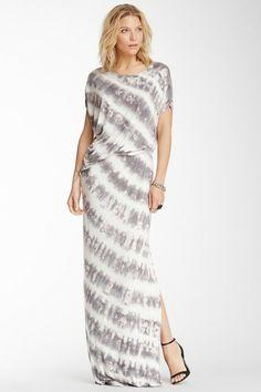 Delray Draped Tie-Dye Maxi Dress by YFB on @HauteLook