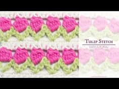 How to crochet the tulip stitch (video tutorial & diagram)
