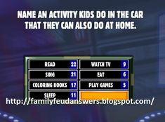 Xmas Games, Christmas Games, Family Game Night, Family Day, Senior Activities, Activities For Kids, 40th Birthday Parties, 40 Birthday, Family Feud Game Questions
