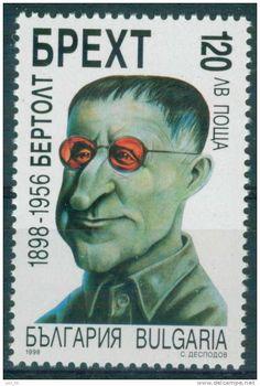 Und wer hat wohl diesen schönen verrückten Brecht für die bulgarische Marke gezeichnet?