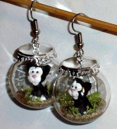 Ohrringe Katze Damen Ohrschmuck Modeschmuck ohne Stein Glas Metalllegierung - für Kurze Zeit günstiger erhältlich!