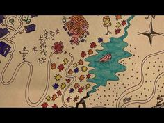 The Lorax Map - YouTube Visual Literacy, The Lorax, Map, Creative, Illustration, Youtube, Location Map, Lorax, Illustrations