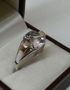 Vintage Ringe - Ring 925er Silber mit klarem Kristallstein SR646 - ein Designerstück von Atelier-Regina bei DaWanda