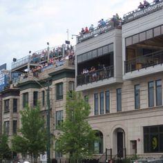 Wrigleyville rooftops