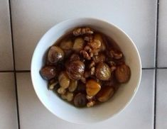 Glacierte Maroni - Rezept - ichkoche.at Beans, Vegetables, Food, Fungi, Oven, Food Food, Beans Recipes, Veggies, Vegetable Recipes