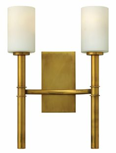 Hinkley Lighting carries many Vintage Brass Margeaux Sconces light fixtures that can be used to enhance the appearance and lighting of any home.