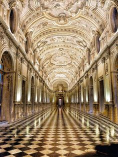 Palazzo Reale, the royal palace of the House of Savoy in Turin, Italy