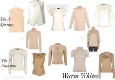 Uniform Dressing 2 Warm Whites