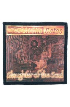 AT THE GATES - Slaughter of the Soul (toppa piccola)   - misure: (larghezza 9,8 cent. - altezza 9,8 cent.)