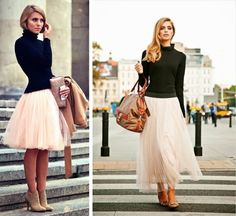 Pink tulle skirt. #fashion #style