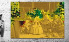 Exposición virtual / Título: Velázquez I (serie Tributes) / Medida original: 305 x 208 cm / Resolución: 120 p.p. / Formato de imagen: JPEG / Color estándar: CMYK / Peso digital: 379 Mb