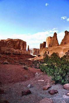 Arches National Park, Utah; photo by Ellen Lacey