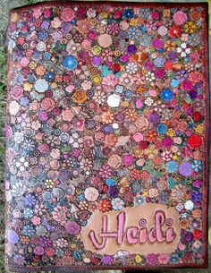Custom Order for Heidi Letter Legal Pad Cover by galeatherlady, $150.00