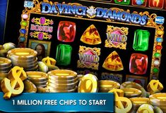 PROMO CODES FOR Davinci Diamonds Slot on Double Down Casino! Free Chips!!!