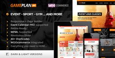 Review Gameplan - Event and Gym Fitness Wordpress ThemeThis site is will advise you where to buy