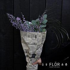 Leikkokimppu - kukkakimppu eucalyptys #flör Planter Pots, Plant Pots