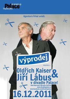 """Plakát na představení """"Výprodej"""" Divadlo Palace"""