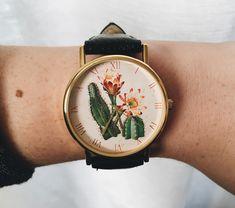 J got me the coolest watch. #cacti
