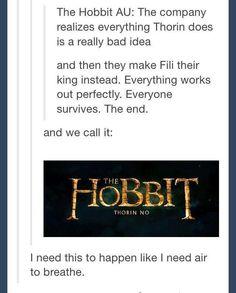 Thorin, No! The Hobbit: Thorin No. Thranduil, Legolas, Kili, Thorin Oakenshield, Bilbo Baggins, Gandalf, Lotr, Midle Earth, Fangirl