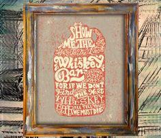 Whiskey Jar Print - Statement - Trend Uncov