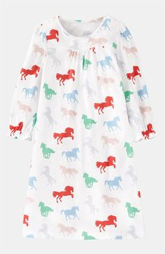 Sensational Sophia Mini Boden Print Nightgown (Toddler, Little Girls & Big Girls) Toddler Girl Outfits, Kids Outfits, Toddler Nightgown, Little Girl Fashion, Mini Boden, Kids Pajamas, Beautiful Outfits, Beautiful Clothes, Kids Wear