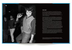 Spread from 'Blue Smoke: The Lost Dawn of New Zealand Popular Music 1918–1964' by Chris Bourke. Published by Auckland University Press, Design Director – Spencer Levine.