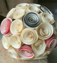 Bouquet papier - Paper bouquet