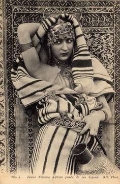 Kabyle woman.