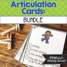 Speech therapy made easy! 850 cards with the following sounds {S, Z, S/R/L  Blends, CH, SH, TH, initial R, Vocalic R, K, G, F, V, L, J, P, B, M, N, T, D}Move through picture, word, phrase, sentence and sound loaded sentences all on one articulation card!