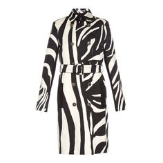 Diane Von Furstenberg Libby coat ($798) ❤ liked on Polyvore featuring outerwear, coats, coats & jackets, black white, zebra coat, diane von furstenberg, black and white coat, diane von furstenberg coat and zebra print coat