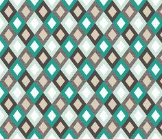 emeraldlinendiamonds fabric by mrshervi on Spoonflower - custom fabric