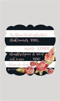 Scalloped Square Scripture Sign  with Bible Verse Jer.29:11...choose ANY verse. newbeginningdesigns.com