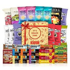 Healthy Snacks Care Package Cookies Variety Pack Bundle Assortment (30 Count) *** Check out this great product. (This is an affiliate link) #healthysnacksforadults