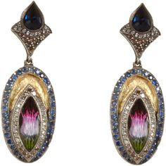 Sevan bicakci earrings.love to wear this with just jeans and white round neck t-shirt;)