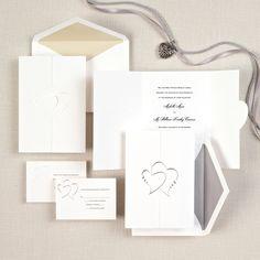 Diamond Romance Wedding Invitation   #exclusivelyweddings   #weddinginvitations