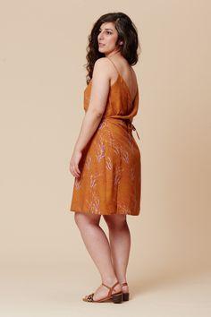 Clothing Patterns, Dress Patterns, Sewing Patterns, Dress Skirt, Wrap Dress, Deer And Doe, B 13, Viscose Fabric, Silk Charmeuse