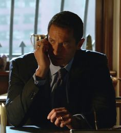Sasha Roiz as Capt. Renard on NBC series Grimm