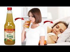 Schau was passiert, wenn du vor dem Schlafen gehen Apfelessig trinkst! - YouTube