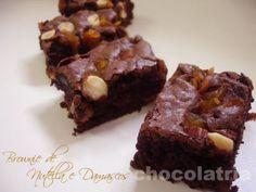 Receita Sobremesa : Brownie de nutella e damascos de Simone_izumi