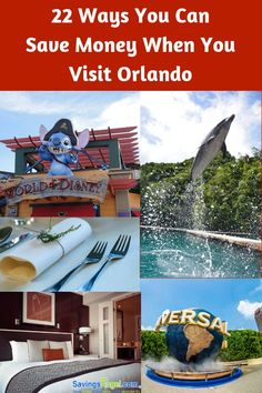 22 Ways You Can Save Money When You Visit Orlando. Check out these dining, attractions, and accommodations deals to save money in Orlando. Best Money Saving Tips, Money Tips, Saving Money, Make More Money, Earn Money, Visit Orlando, Disney On A Budget, Frugal Living Tips, Early Retirement