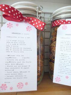 Mason Jar Meals, Meals In A Jar, Diy Pour Homme, Preparation Gateau, Jar Gifts, Food Gifts, Diy Cadeau Noel, Apple Juice, Diy Presents
