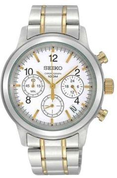 e8692b0c40b Seiko 6T63-00A0 2T Chronograph Date Display Bracelet Mens Watch Models