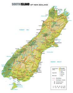 South Island of New Zealand in Ten Day Road Tour: Ten Day Road Tour of the South Island