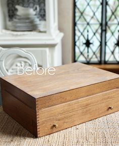 Flatware Box Makeover | Confessions of a Serial Do-it-Yourselfer