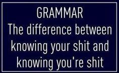 Grammar- truth