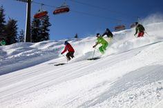 Powder pur - snow space Flachau am 24.2.2014